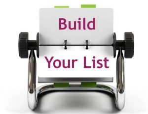 List Building to Build Your Online Business