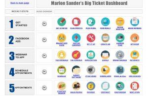 Marlon Sanders Dashboard