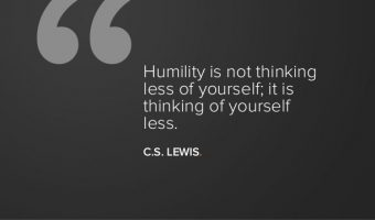 Humble Yourself as Part of Your Business